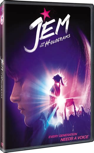 Jem and the Holograms   Watch on Blu-ray, DVD, Digital