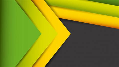 Wallpaper Abstract Lines, Stock, Yellow, Green, HD